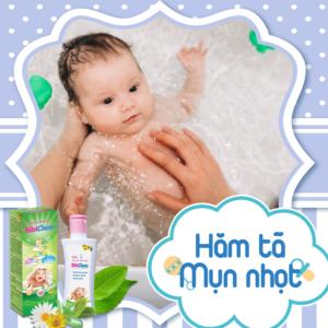 Sữa tắm gội thảo dược Bibiclean