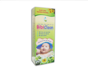 Nước tắm thảo dược Bibiclean