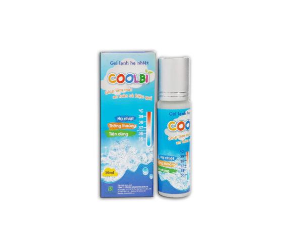 Gel lạnh hạ nhiệt Coolbi