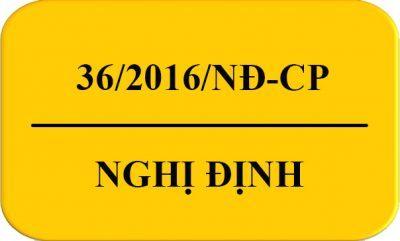 Nghị định 36/2016/NĐ-CP của Chính phủ về việc quản lý trang thiết bị y tế
